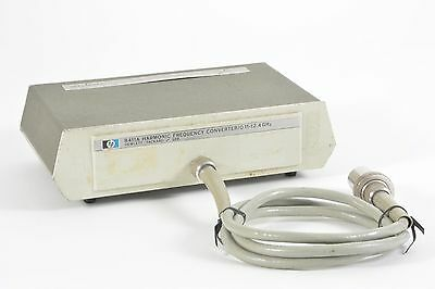 HP / Agilent 8411A Harmonic Frequency Converter / 0.11-12.4GHz - Tested Working