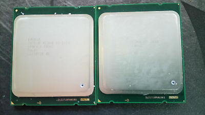 Matched pair Xeon 2x e5645 - 6 core 12 threads - 2,4 GHz