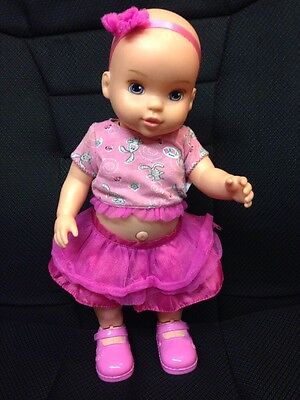 "MGA ZAPF Baby Born ""Dance with Me Baby"" Dances Sings 15"" Interactive Baby Doll"