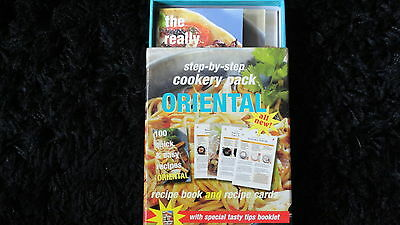 **step By Step Oriental Recipe Pack**100 Quick & Easy Recipes**