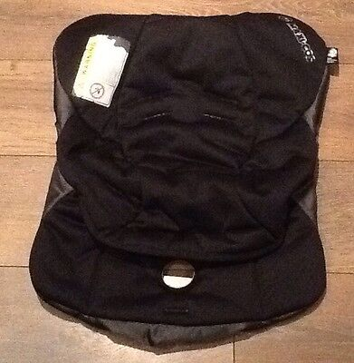 Genuine MAXI COSI Cabriofix Cabrio COVER for Car Seat Total Black