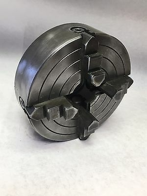 """THE SKINNER NO.9506-51 6"""" 4-JAW 1-1/2-8tpi Mount LATHE CHUCK MACHINIST TOOL USA"""