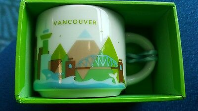 Starbucks You Are Here YAH Ornament Vancouver 2oz