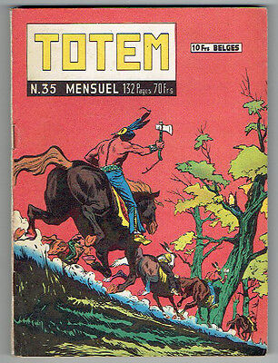 TOTEM n°35 – Editions Aventures et Voyages – Mars 1959 – TBE/NEUF