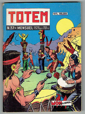 TOTEM n°37 – Editions Aventures et Voyages – Mai 1959 – TBE/NEUF