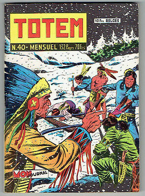 TOTEM n°40 – Editions Aventures et Voyages – Août 1959 – TBE/NEUF