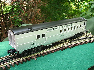 K-line KCC Exclusive Kennecott Copper Passenger Supply Car K4537-0803 Mint Boxed
