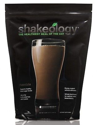 Chocolate Shakeology 30 day Supply Exp 1/2018 New In Sealed bag