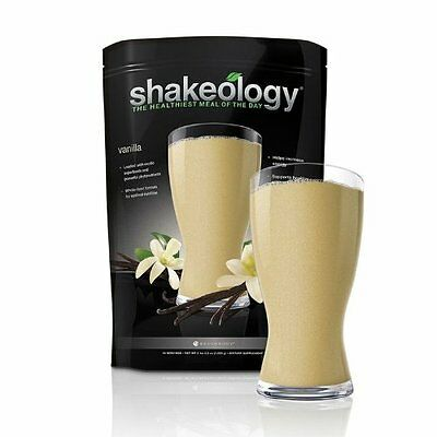 Vanilla Shakeology 30 day Supply Exp 1/2018 New In Sealed bag
