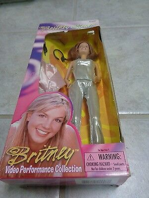 "Britney Spears Doll ""Born To Make You Happy"" 1999 Play Along Video Perf. Coll."