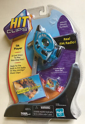 2002 Tiger Hit Clips Player FM Player Real FM Radio Madonna New Free Ship