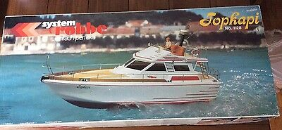 Topkapi No.1128 System Robbe RC Boat ~ Made in W.Germany