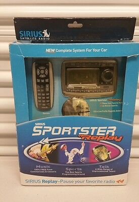 ***NEW**** Sirius Sportster Replay Satellite Radio W/ Car Kit