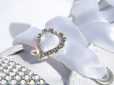 New Bling your Trainers with Crystal Shoe Charms put On ShoeLaces Wedding Shoes