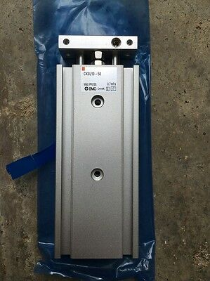 SMC CXSL-10 Dual Rod Guided 50mm Pneumatic CYLINDER CYL-GUD-I-27