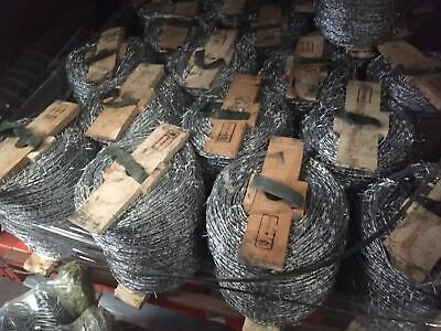 Galvanized Barbed Wire wooden reel 1.6mm**1.6mm*500m $70.00 /roll
