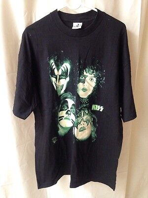Vintage tour KISS T Shirt Glow in the Dark Shirt