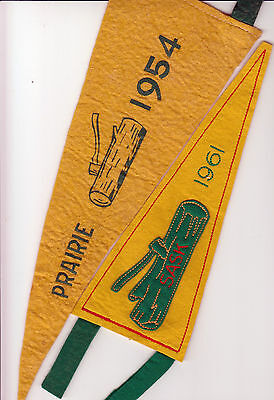 Boy Scout Gilwell Pennants