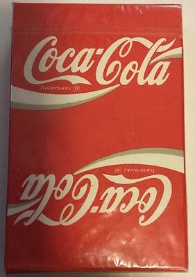 Coca Cola Playing Cards U.S. Playing Card Company New Sealed