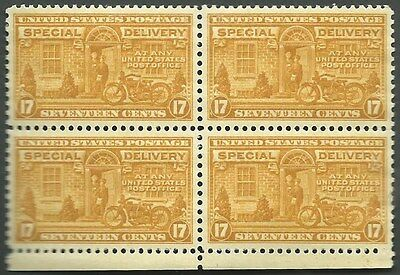 Scotts  # E-18  17c  Special Delivery, MNH, OG