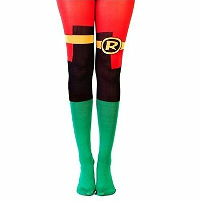 DC COMICS-Dc Comics Batman Women`S Classic Robin Suit Tights (UK IMPORT)  AC NEW