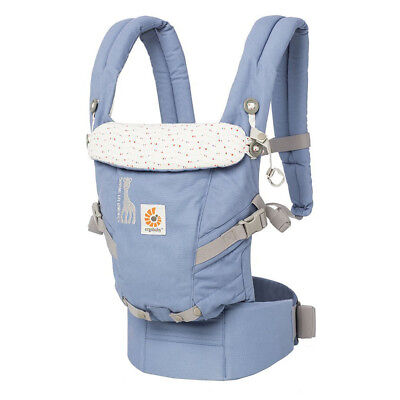 New 0-36 month Adjustable 360 Four Position Baby Carrier Backpack Cotton Ergo