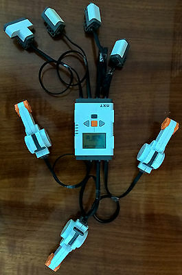 Lego Mindstorms NXT 1: brick, sensors, motors and cables only