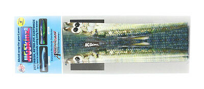 Jigskinz JZRLBBH-L4 RL BlueBack Herring 200 x 110mm x 4 pieces Large (7585)