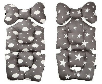Totots Air Liner Infant Stroller Car Seat Cover Liner Cushion Mesh Cloud Star