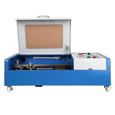 USB Port 40W CO2 Laser Engraving Cutting Engraver Cutter Machine 300x200mm