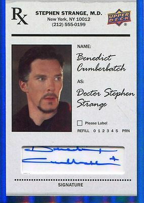 Doctor Strange 2016 Autograph Card SS-BC Benedict Cumberbatch as Doctor Strange