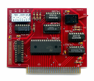 Brain Board (Apple 1 emulator and ROM card)  for Apple II, II Plus and IIe