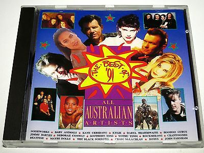 compilation, The Best Of 91 All Australian Artists, Various Artists CD