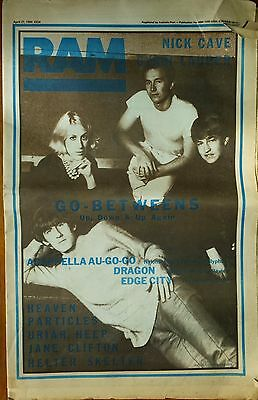Go-Betweens Nick Cave RAM 27th april 1984