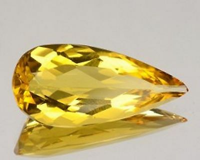 1.64 Cts Sparkling Very Rare Golden Yellow Color Natural Beryl Gemstones