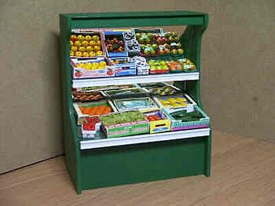 Dolls House Miniature Greengrocery Display Stand 1/12Th Scale
