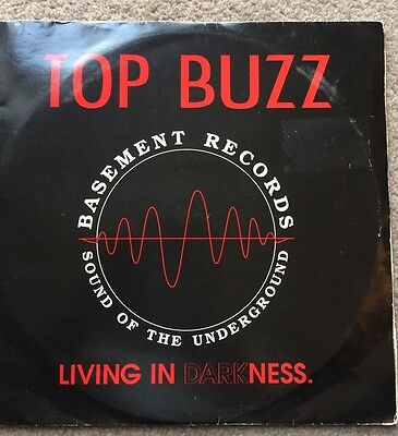 """Top Buzz - Living in Darkness 2x10"""" old skool rave"""