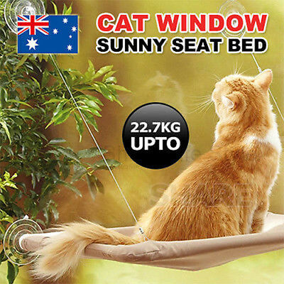 Comfortable Cat Window Bed Sunny Seat Pets Wall Home Hammock Cover Washable