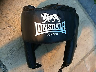 Lonsdale Pro Boxing MMA Martial Arts Sparring Head Guard