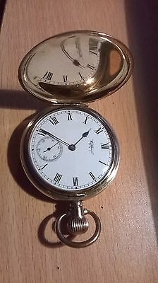 Excellent Waltham Full Hunter Pocket Watch 1927