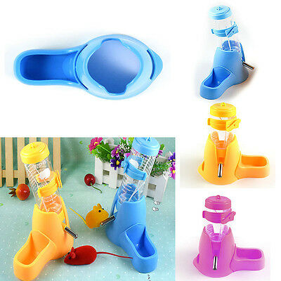 Small Animal Pet Rabbit Guinea Pig Hamster Water Fountain Drinking Water Bottle