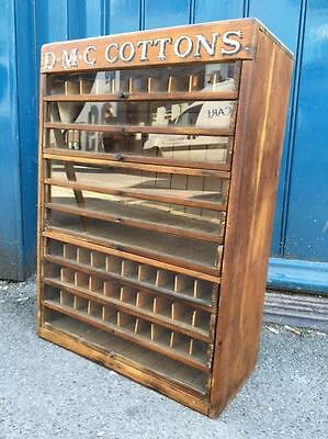 1930s/1940s Shop Display Cabinet/Case. Antique/Haberdashery/Vintage