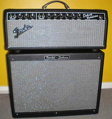 "Fender Deluxe Reverb Head with ""Fritz Mod"".  Hardly Used- Immaculate."
