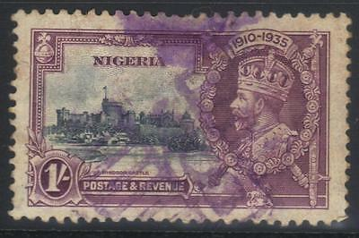 Nigeria 1935 Silver Jubilee Sg33 Used Cat £45
