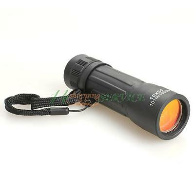 1PC 10x25 Multi-coated Lens Sports Monocular Hunting Camping Telescope US STOCK