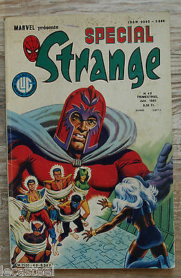 spéciale strange n° 40 - Collection lug marvel - 1985