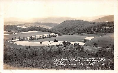 Cumberland Md View From Martin's Mt Looking Toward Polish Mt~Real Photo Postcard