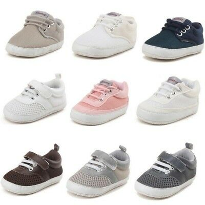 New Newborn Baby Boys Shoes Kids Crib Bebe First Walkers Infant Sports Sneakers