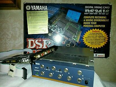 Yamaha DSP FACTORY DS 2416 + Ax44 Sound card