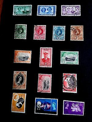 Lovely 2 Page Swaziland Collection - Sold as received